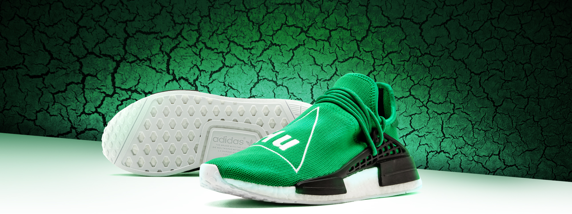 For sale New Human Race Adidas HU Green / PW shoes