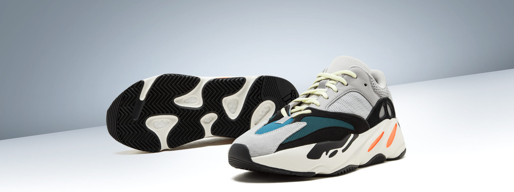 Price of Womens Adidas Yeezy Boost 700 Wave Runner shoes online