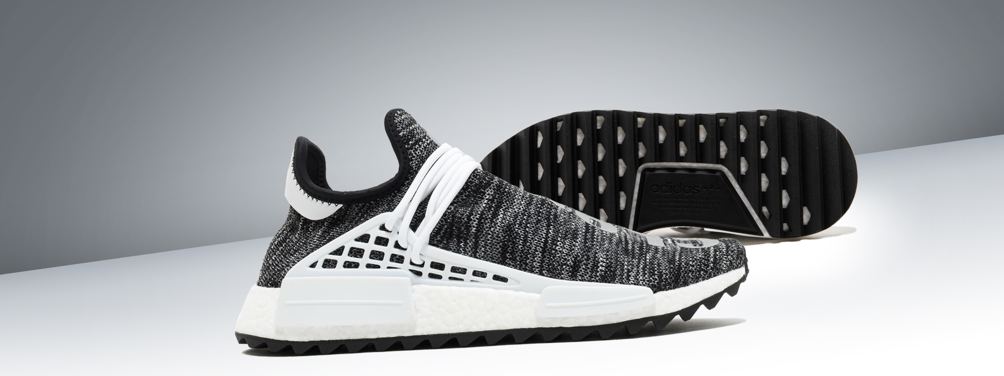 Buy The best Human Race Adidas HU Trail Core Black / PW sneakers online