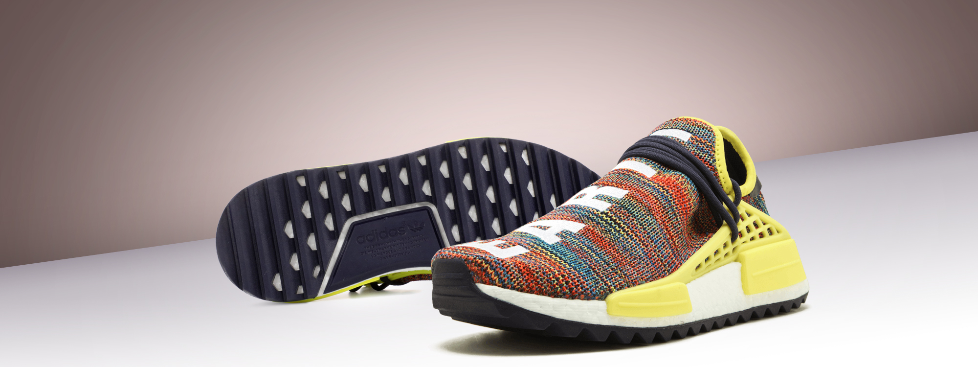 For sale Cheap Human Race Adidas HU Trail Multicolor / PW sneakers