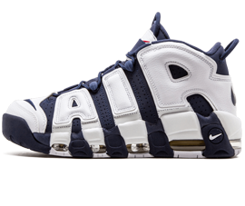 Perfect Nike UPTEMPO Olympic Navy Free Shipping via DHL for sale
