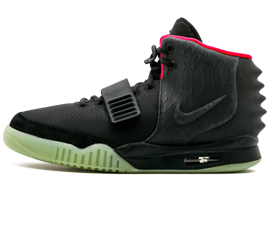 Womens Nike Air Yeezy NRG Black shoes online