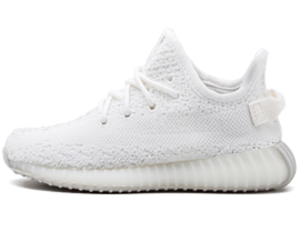 Perfect Adidas Yeezy Boost 350 INFANT Triple / Cream White Free Shipping via DHL for sale