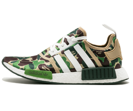 Perfect BAPE Sneakers Olive Camo Free Shipping via DHL for sale
