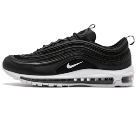 Perfect Nike AIR MAX 97 Black/White OG QS Free Shipping via DHL for sale