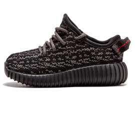 Perfect Adidas Yeezy Boost 350 INFANT Pirate Black Free Shipping via DHL for sale