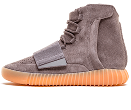 Perfect Adidas Yeezy Boost 750 Light Grey / Gum Free Shipping via DHL for sale