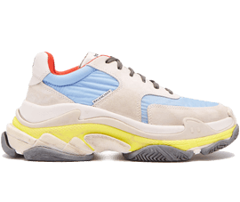 Perfect Balenciaga Triple S Trainers Blue / Red 2.0 Free Shipping via DHL for sale