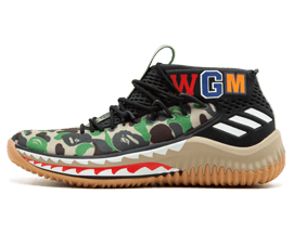 Perfect BAPE Sneakers Green Camo Free Shipping via DHL for sale