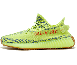 Perfect Adidas Yeezy Boost 350 V2 Semi Frozen Yellow Free Shipping via DHL for sale