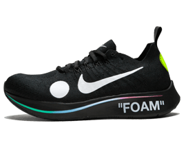 Perfect Nike Off-White Zoom Fly Mercurial Black / OW Free Shipping via DHL for sale