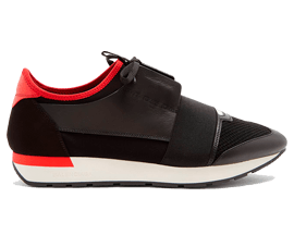 Perfect Balenciaga Race Runner Red / Black Free Shipping via DHL for sale