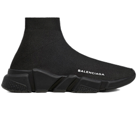 Perfect Balenciaga Speed Trainers Mid Black Free Shipping via DHL for sale