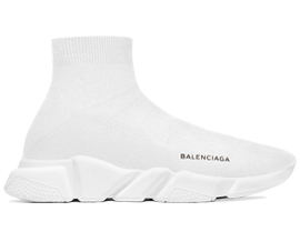 Perfect Balenciaga Speed Trainers Mid White Free Shipping via DHL for sale