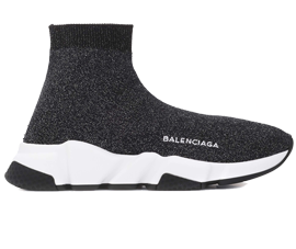 Perfect Balenciaga Speed Trainers Mid Gray Free Shipping via DHL for sale