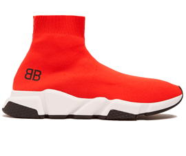 Perfect Balenciaga Speed Trainers Mid Red Free Shipping via DHL for sale