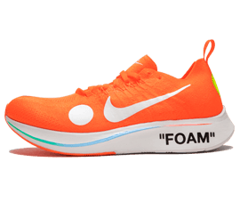 Perfect Nike Off-White Zoom Fly Mercurial Orange / OW Free Shipping via DHL for sale