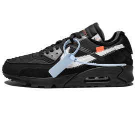 Buy Nike Off-White Air Max 90 / OW Black shoes