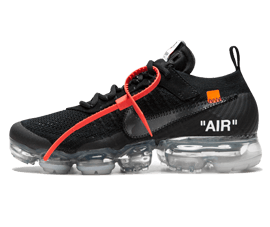 Perfect Nike Off-White Air Vapormax Clear / OW Free Shipping via DHL for sale