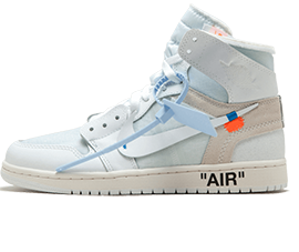 Perfect Nike Off-White Air Jordan 1 OG White / OW Free Shipping via DHL for sale