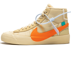 Womens Nike Off-White Blazer Mid All Hallows Eve / OW shoes online