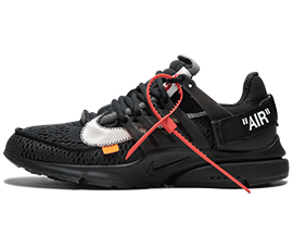 Perfect Nike Off-White Air Presto Black Max / OW Free Shipping via DHL for sale