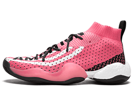 Perfect Adidas CRAZY BYW Pink Free Shipping via DHL for sale