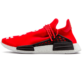 Perfect Human Race Adidas HU Scarlet / PW Free Shipping via DHL for sale
