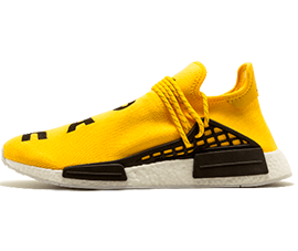 Perfect Human Race Adidas HU Yellow / PW Free Shipping via DHL for sale