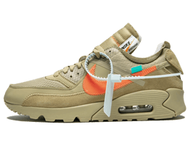 Buy Your size Nike Off-White Air Max 90 / OW Desert Ore online