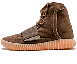 Perfect Adidas Yeezy Boost 750 Light Brown / Chocolate Free Shipping via DHL for sale