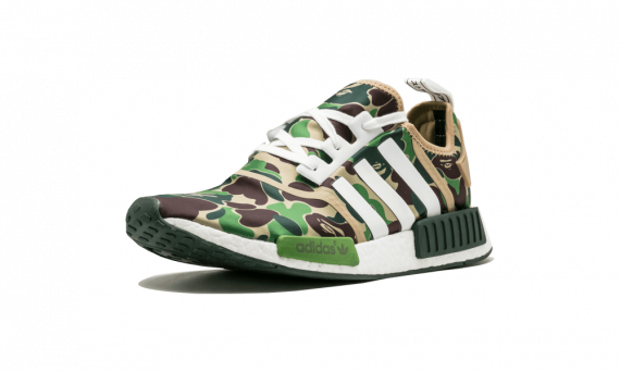 Womens BAPE Sneakers Olive Camo online