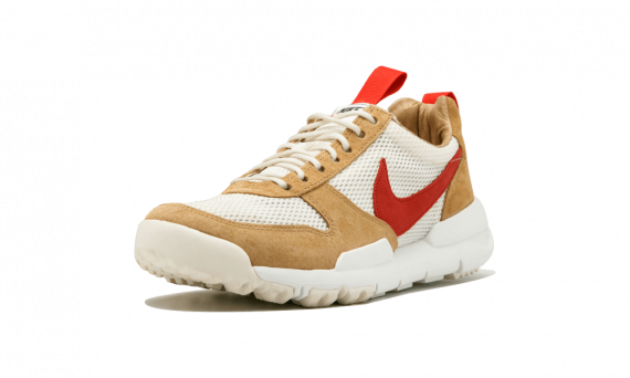 Tom Sachs x Nike Mars Yard 2.0 NATURAL/SPORT RED-MAPLE AA2261 100