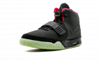 Nike Air Yeezy 2 NRG BLACK/BLACK-SOLAR RED 508214 006