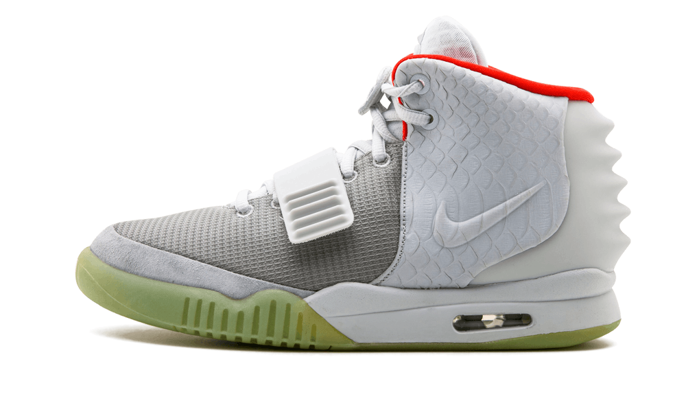 $225 Perfect Nike Air Yeezy NRG Wolf Grey Free Shipping via DHL shoes