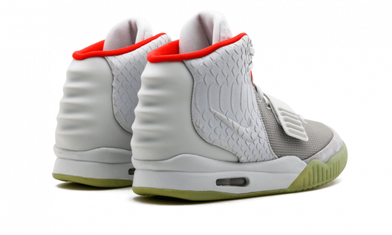 Nike Air Yeezy 2 NRG WOLF GREY/PURE PLATINUM 508214 010