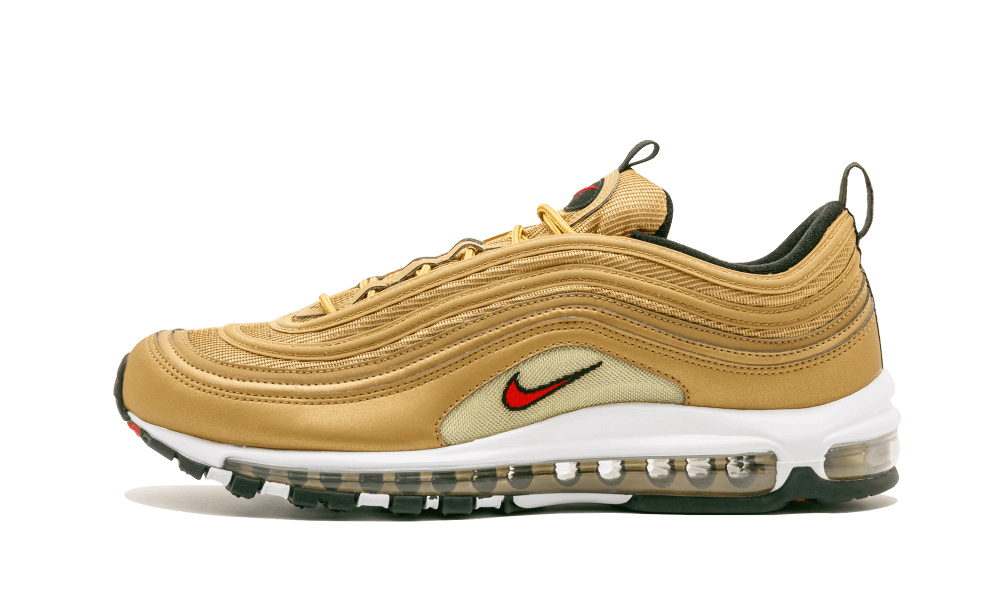 Womens Nike AIR MAX 97 Metallic Gold 2017 OG QS shoes