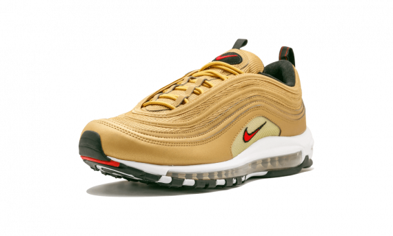 New Nike AIR MAX 97 Metallic Gold 2017 OG QS sneakers