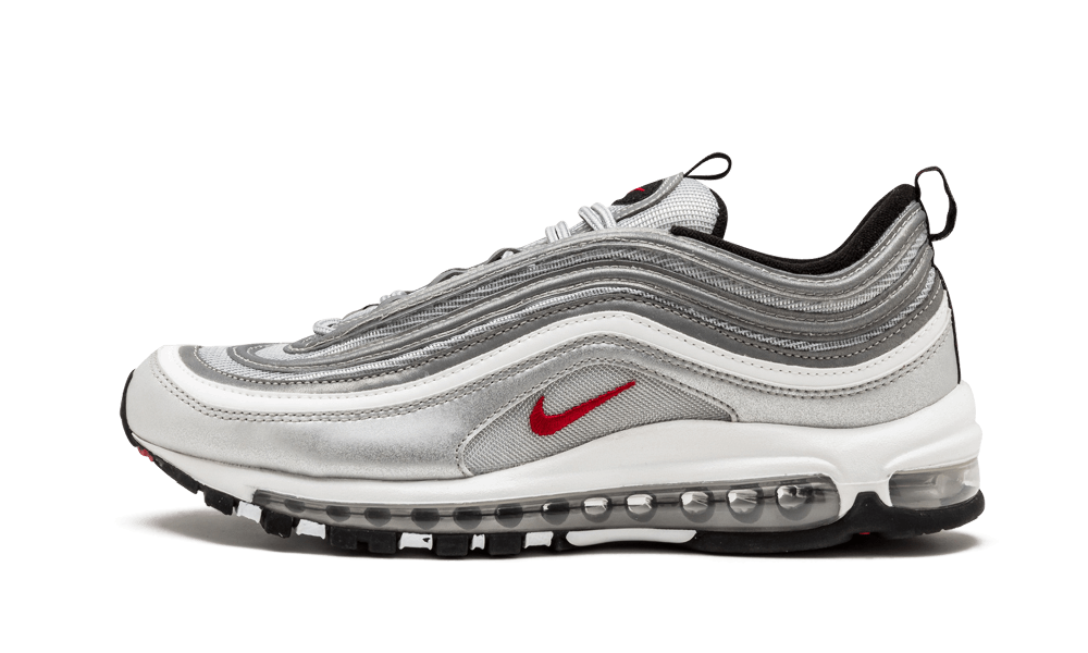 $175 Perfect Nike AIR MAX 97 Silver Bullet OG QS Free Shipping via DHL price