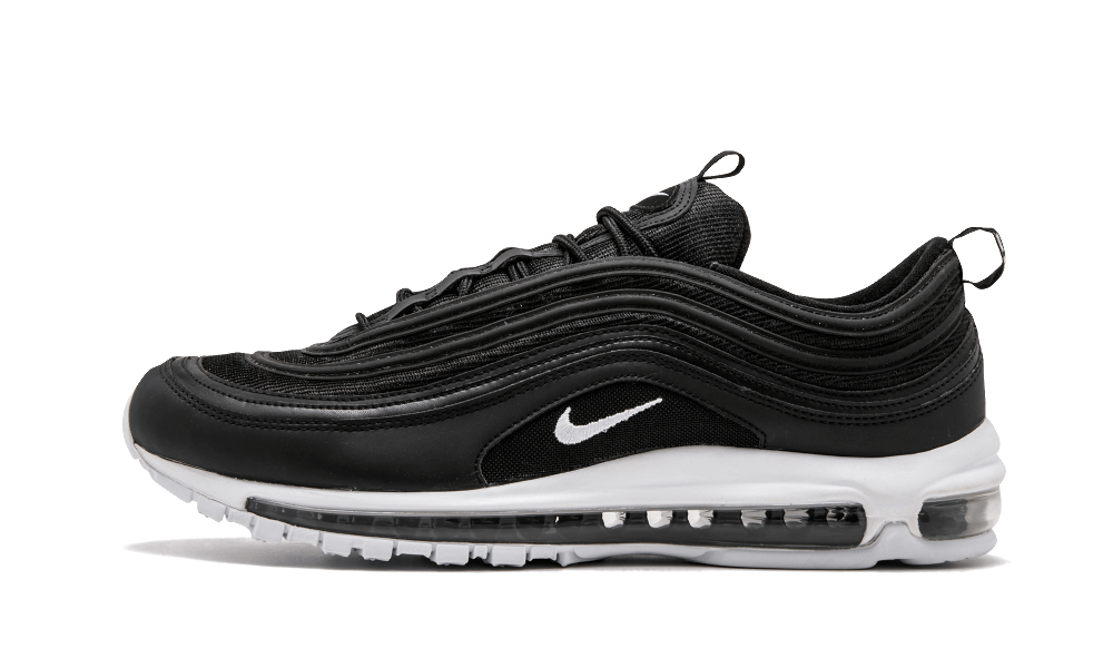 $175 Perfect Nike AIR MAX 97 Black/White OG QS Free Shipping via DHL sneakers