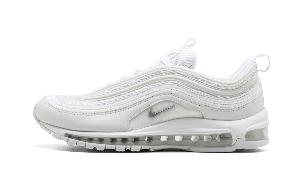 Your size Nike AIR MAX 97 Triple White sneakers