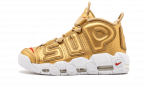 How to get Your size Nike UPTEMPO Supreme Metallic Gold shoes online