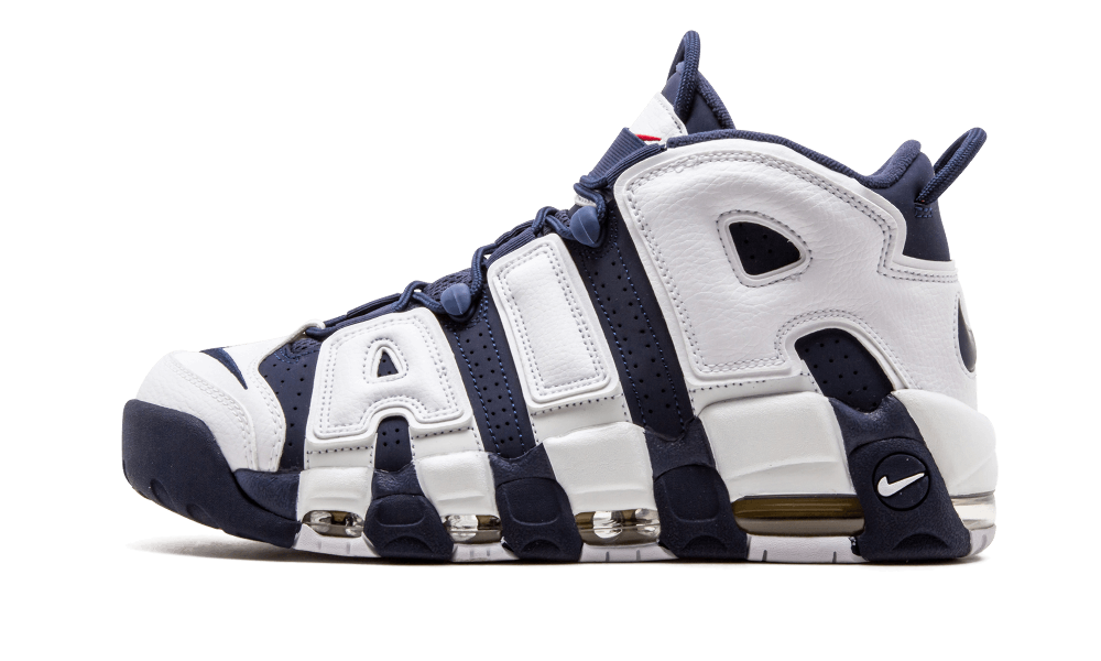$185 Perfect Nike UPTEMPO Olympic Navy Free Shipping Worldwide cheap