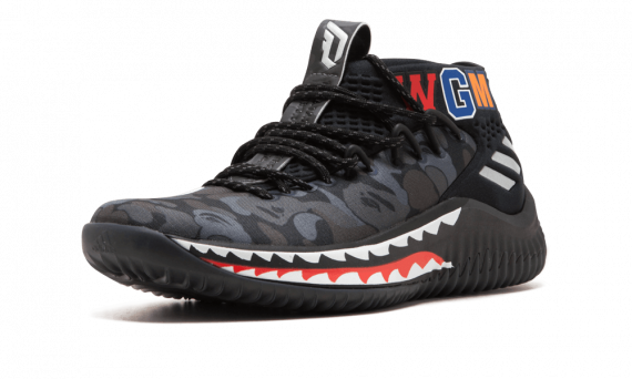 Price of Womens BAPE Sneakers Damian Lillard shoes online