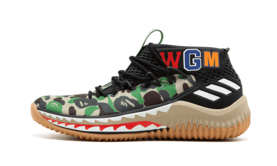 Cheap BAPE Sneakers Green Camo shoes