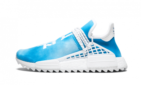 separation shoes 68b49 92f7e $195 Perfect Human Race Adidas HU Holi Blue / PW Free Shipping Worldwide  for sale