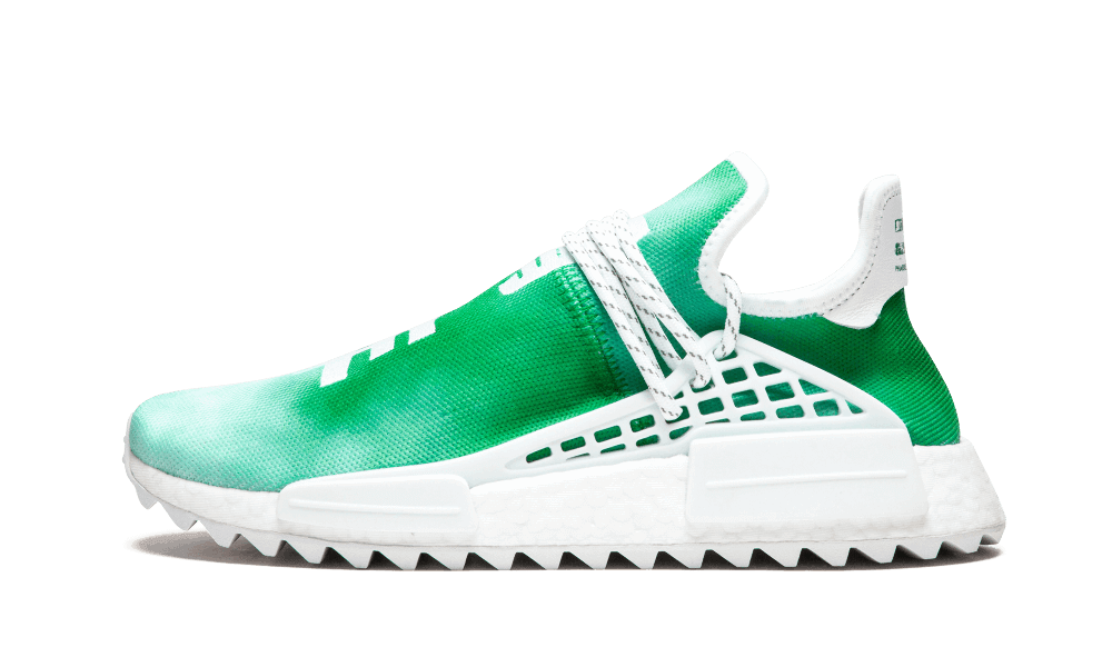 $195 Perfect Human Race Adidas HU Holi Green / PW Free Shipping via DHL shoes