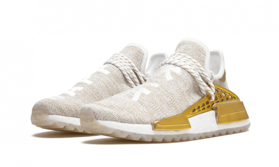 Price of Cheap Human Race Adidas HU Holi Gold Happy / PW shoes