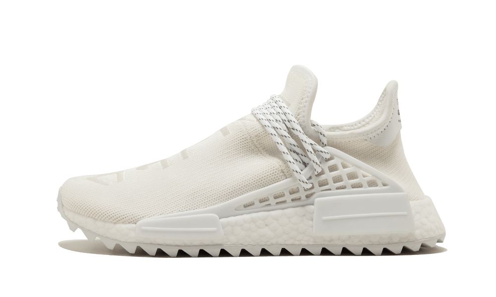 $195 Perfect Human Race Adidas HU Cream White / PW Free Shipping via DHL new