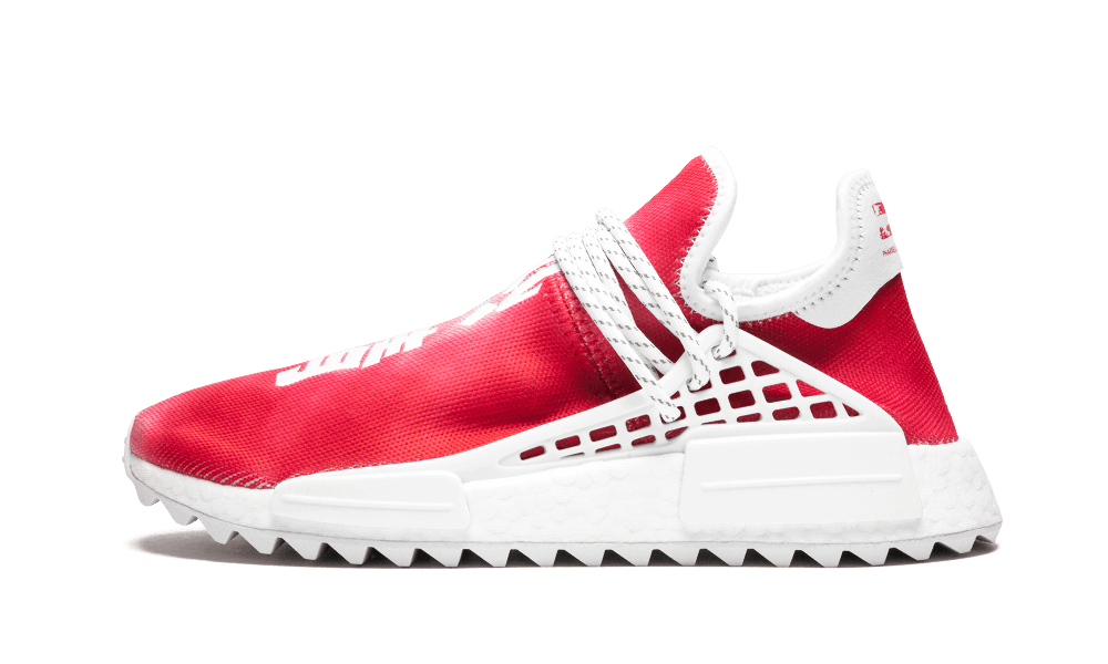$195 Perfect Human Race Adidas HU Holi Red / PW Free Shipping via DHL sneakers